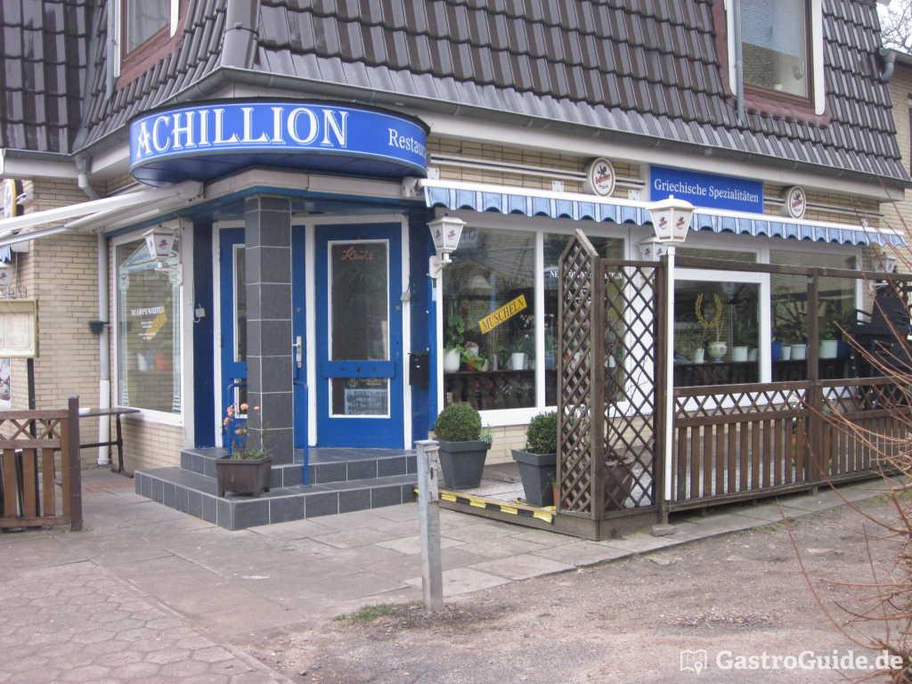achillion restaurant in 22523 hamburg. Black Bedroom Furniture Sets. Home Design Ideas