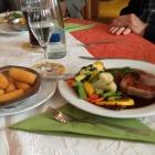 Foto zu Landgasthof Lamm: Zunge mit Gemüse un d Kroketten