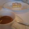 Espresso mit Kuchen
