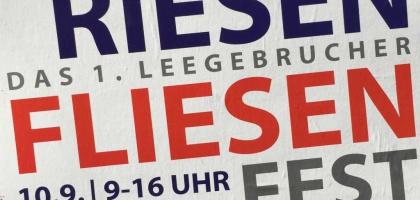 Fotoalbum: 1. Legebrucher Fliesenfest 2016