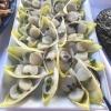 Chicoree mit Avocadomousse und Jakobsmuscheln
