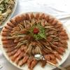Zucchini mit Räucherfisch