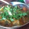 unbekanntes Gemüse-Gericht