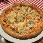 Foto zu Pizzeria da Mario: 7.3.18/Pizza Napoli, Artischocken, Sardellen, Kapern