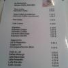 Speise-und Getränkekarte