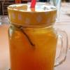 Hausgemachte Orangenlimo