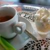 Espresso mit Eierlikörsahne als süße Zugabe