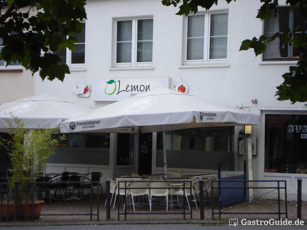 lemon restaurant bistro sushibar in 53604 bad honnef. Black Bedroom Furniture Sets. Home Design Ideas