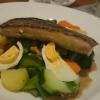 Indonesisches Gemüse, frisch eingetroffen !! Ei, Kartoffel und Gurke.