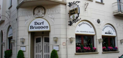 ffnungszeiten dorfbrunnen restaurant in 46539 dinslaken. Black Bedroom Furniture Sets. Home Design Ideas