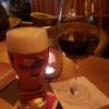 """""""Shiraz-Mataro South Australia, Banrock Station Winery mit einem Geschmack nach Kirschen, Brombeeren und Rhabarber"""" für 5,80 € und ein 0,4ér """"Traditional Red Craft Beer"""" für 3,50€"""
