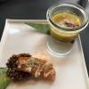 Amuse Bouche: Linsensuppe / Lachs & Quinoa
