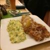 Münchener Schnitzel mit Gurken-Kartoffelsalat