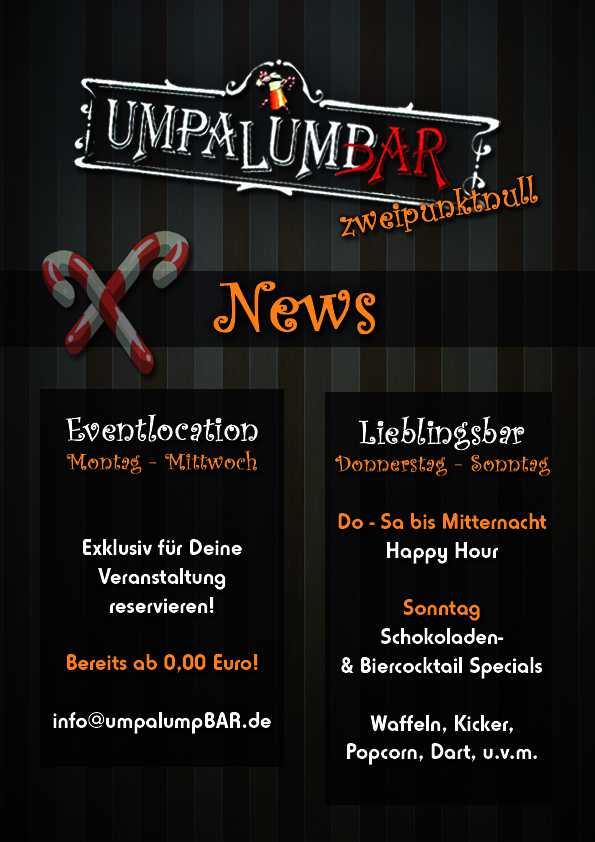 Bild zur Nachricht von UmpaLumpBAR