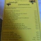 Foto zu Landcafé Loewenstein: Tortenkarte am 13.3.2016