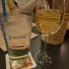 Schoppen Hauswein weiß für 4,60 € und eine 0,4ér Holunderschorle für 3,20 €