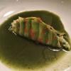 Avocado Dim Sum / Taschenkrebs / Rucola