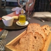 Brot, Butter, Öl und Salz
