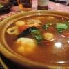 Tom-Yam-Suppe mit Garnelen