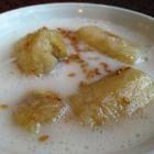 Foto zu Laai Kanok: Gekochte Bananen in Kokos
