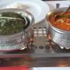 Spinat und Rindfleisch