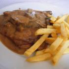 Foto zu Alte Schlachthof Kantine · Grillrestaurant: Rahmschnitzel