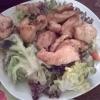 Salat Hähnchenbrust
