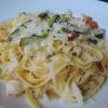 Fettucine con Gamberi e Zucchini