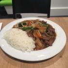Foto zu DANG VI: Gebratenes Rindfleisch Chop Suey mit Gemüse