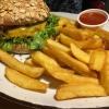 Anden Burger + Pommes