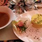 Foto zu Kilimanjaro Linden: maffé vegetarisch 10,80 € Erdnußbuttersoße, Maniok, Kartoffel, Karotte, dazu Couscous (oder Reis)