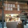 ein Blick in die offene Küche