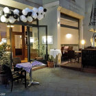 Foto zu Ristorante Venezia: Der Eingang am 14.04.17
