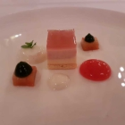 Foto zu Restaurant Weinhaus Uhle: Rhabarber und Kefir
