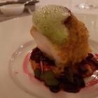 Foto zu Restaurant Weinhaus Uhle: Medaillon von der Lotte unter der Curry-Panko-Kruste