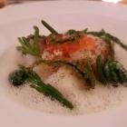 Foto zu Restaurant Weinhaus Uhle: Ostseedorsch mit Brandade von seiner Leber, Keta-Kaviar-Butter, Stockfisch