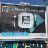 Die Werbung allerorten in Köln