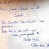 Mein Gruß im Gästebuch der Lurelei ;-)