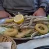 Fischplatte Frittura Mista