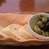 Oliven mit Baguette