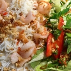 Foto zu Pho Bun Nem Vietnamesische Küche: 41 Bun Tom Nam Bo - Garnelen gebraten