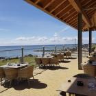 Foto zu Restaurant Seeblick - Ferienpark Wulfener Hals: das Meer genießen auf der windgeschützten Terrasse