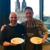 Miguel (YouDinner) und Carsten Wionczeck (Käsesommelier)