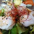 Foto zu Koza: Steamz - Dim Sum mit Garnelenfüllung auf Salatbett