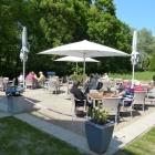 Foto zu Café & Bistro Wagenknecht: neu angelegte Terrasse