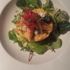 Foto zu Restaurant nikkisch: Couscous-Feigen-Salat und Blauschimmelkäse