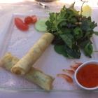 Foto zu Restaurant Heidehof: 2.9.18 / Vorspeise hausgemachte Frühlingsrollen