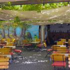 Foto zu Friedrichsfelder Hof: Blick in den Hof-Garten