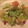 tonkabohne & edelweiß | geeist | grüner apfel confiert | selleriemilch