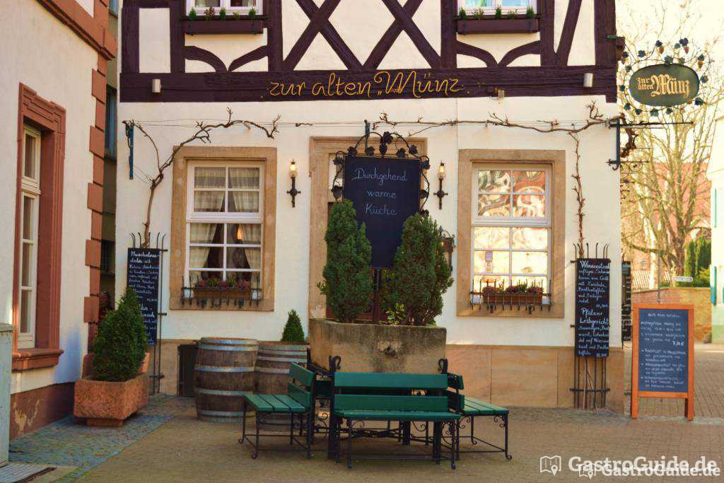 Zur Alten Münz Restaurant In 67346 Speyer